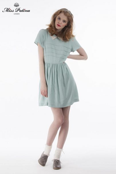 Regency Dress (Mint) (6)