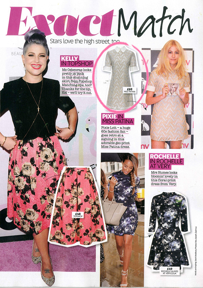 Miss Patina in Now Magazine