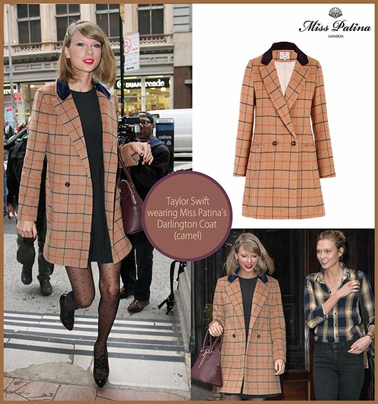 Spotted: Taylor Swift in Miss Patina