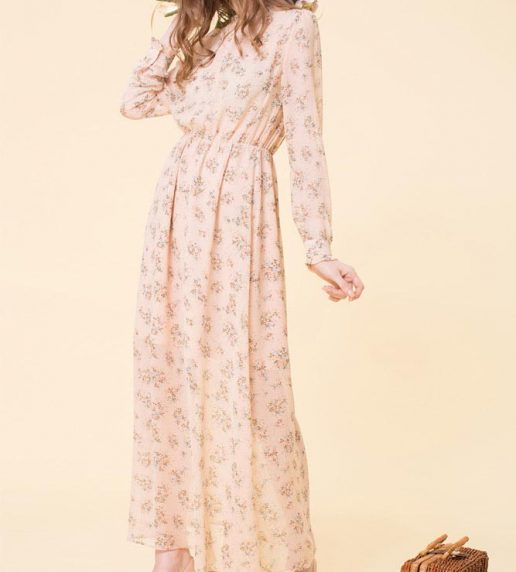 Flower Child Dress (Pink)
