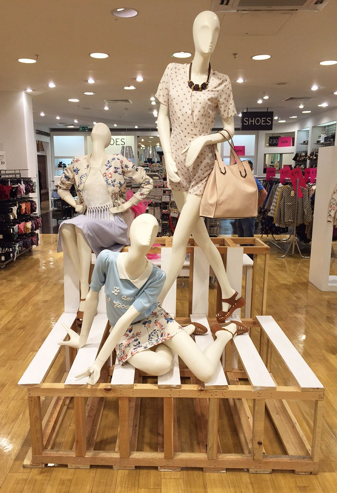 Miss Patina in Topshop