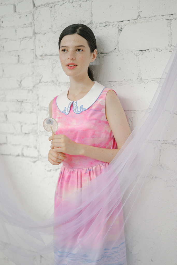 Give You Heaven Dress(Ocean Mirage) 16SS-DRS-06 (9)