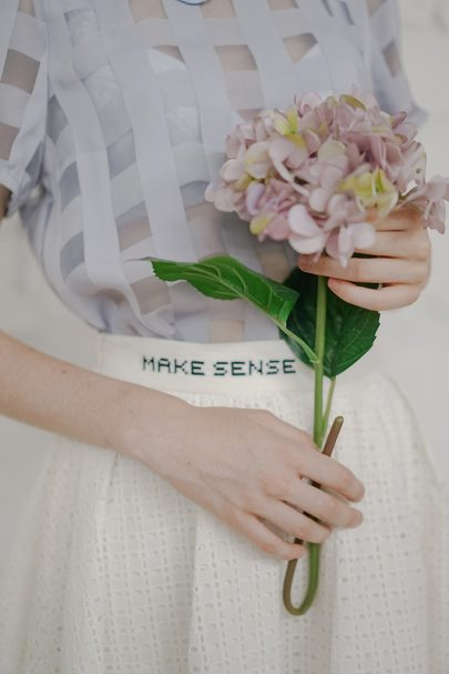 Make Sense Skirt (White) 03