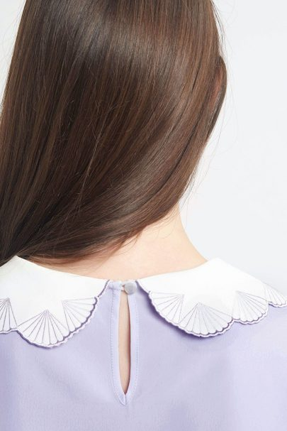 Paper Shell Top (Lavender) (10)