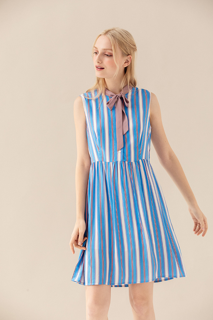 994a02d3b8b Set You Free Dress (Stripes) – Miss Patina