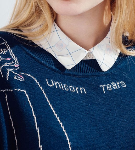 Angel Arms Jumper (Navy)