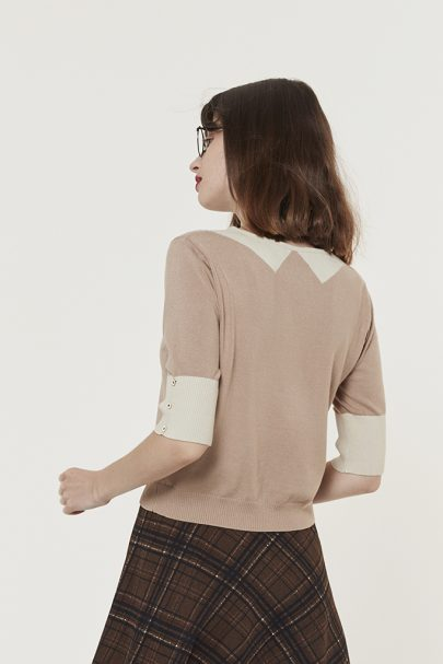 Academia Top (Dusty Pink) (5)