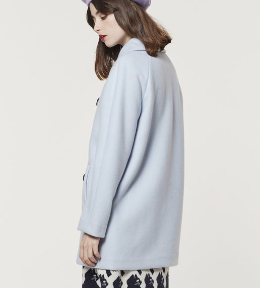 Kitten Anthem Coat (Baby Blue)