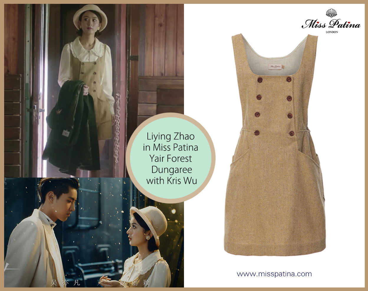 Spotted! Actress Liying Zhao in Miss Patina!