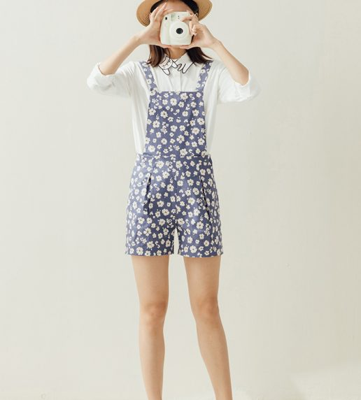 Little Daisy Dungaree (Blue)