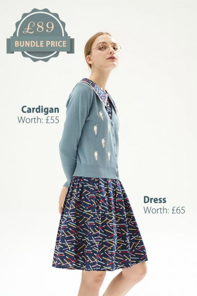 'Unicone'-Cardigan-Jane-Austin-Dress