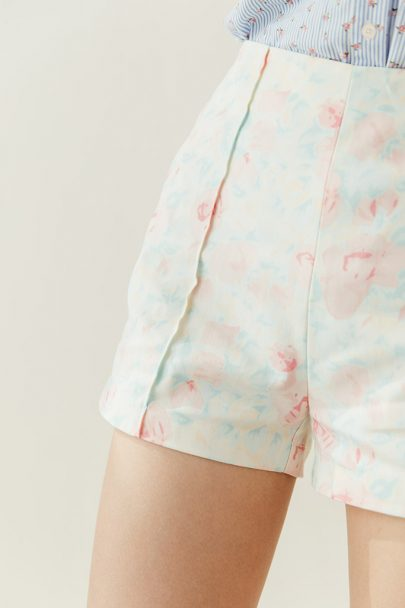 Pastels Flower Shorts (3)