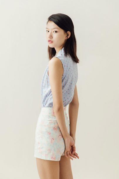Pastels Flower Shorts (5)