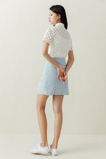 The Sweetheart Skirt (Baby Blue) (1)