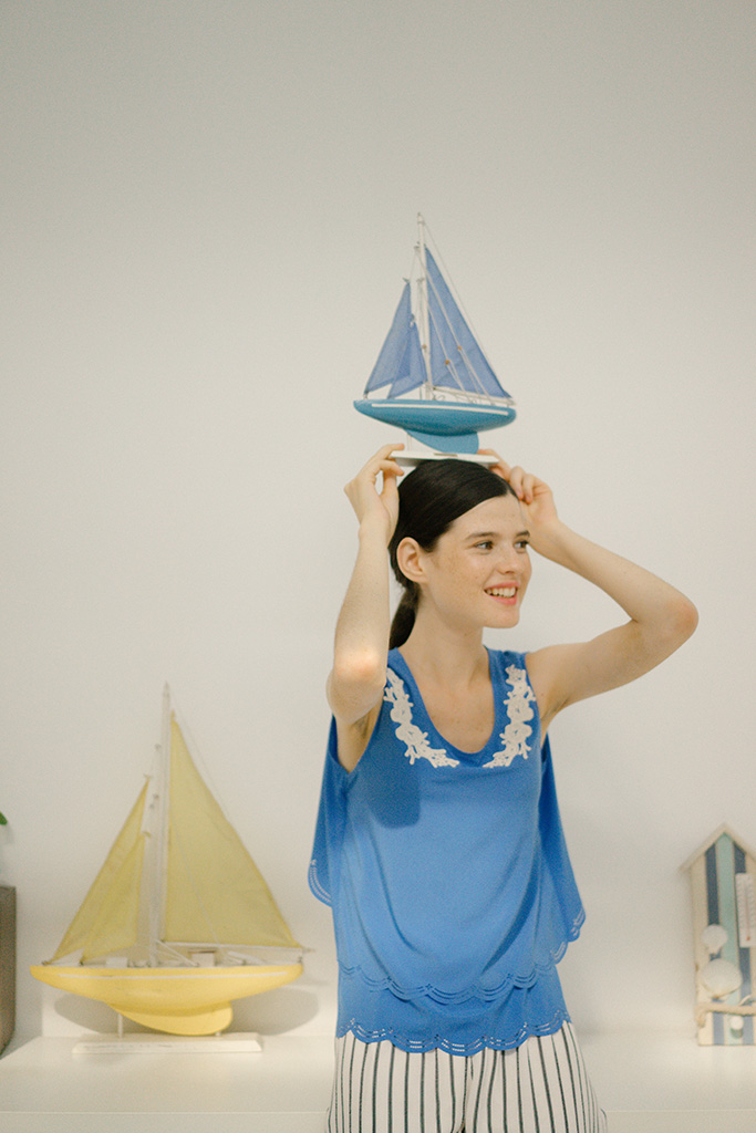 Paper Doll Top (Blue) 02