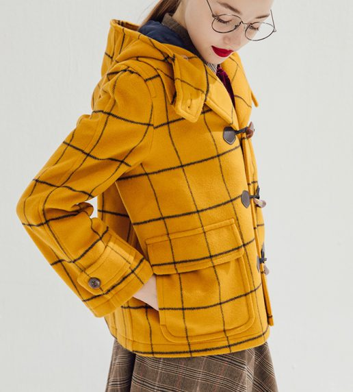 Paddington Wool Duffle Coat (Mustard)\[Limited Edition]