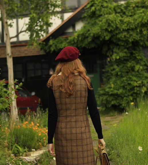 Sinclair Dress (Brown)