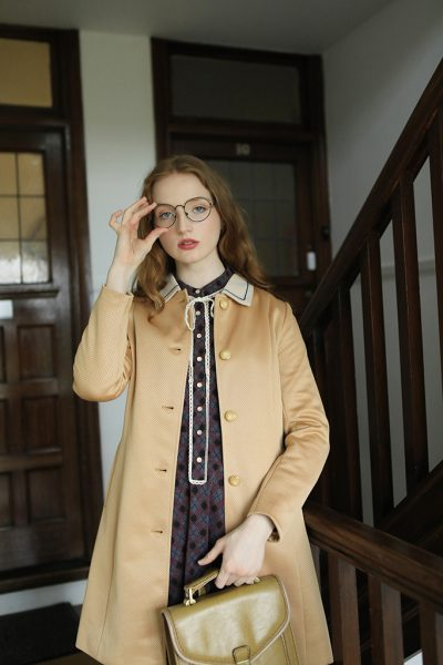 The Lady Coat (Marigold) (3)
