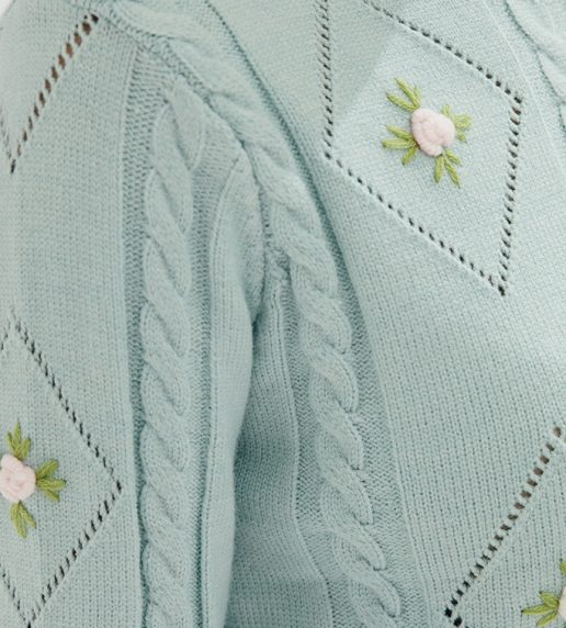 Belle Ame Jumper (Baby Blue)