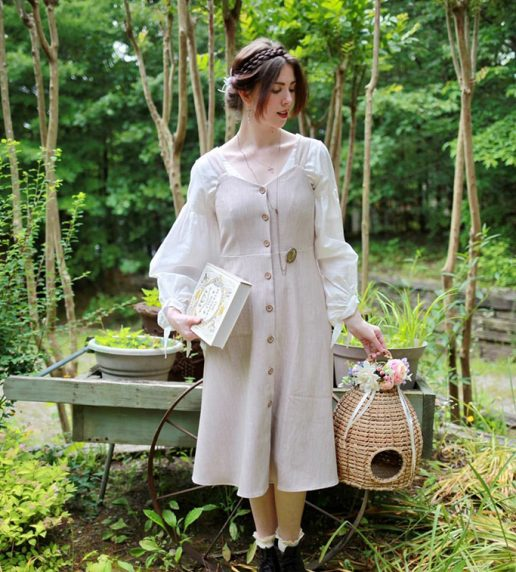 English Oak Pinafore